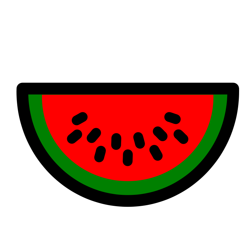 Watermelon icon panda free. Fraction clipart animated