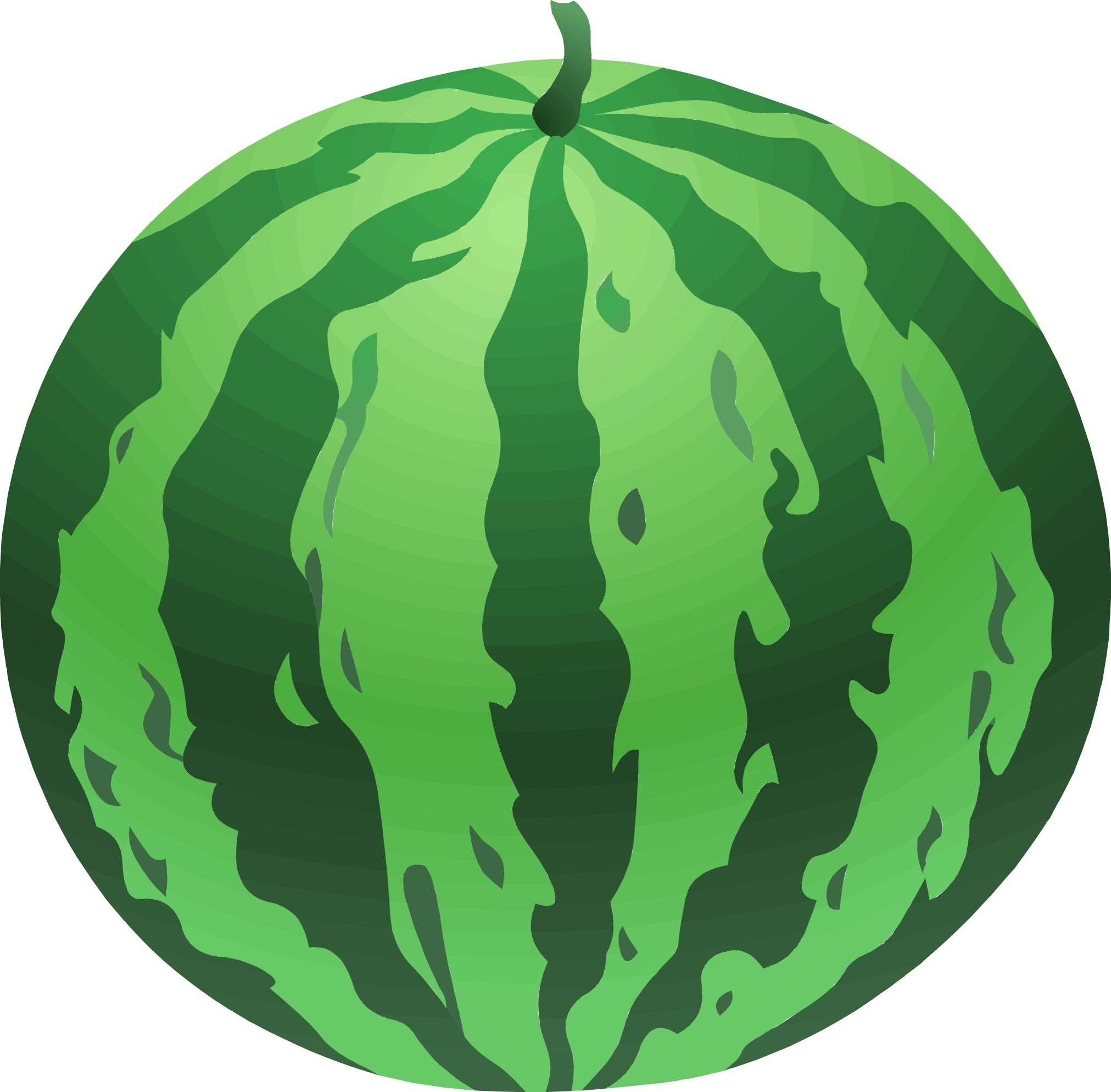 Clipart leaves watermelon. Free clip art image
