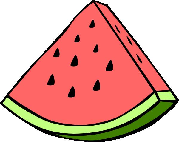 Slice free . 1 clipart watermelon