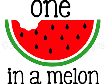 1 clipart watermelon. Silhouette at getdrawings com
