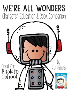 1 clipart we re. All wonders character education