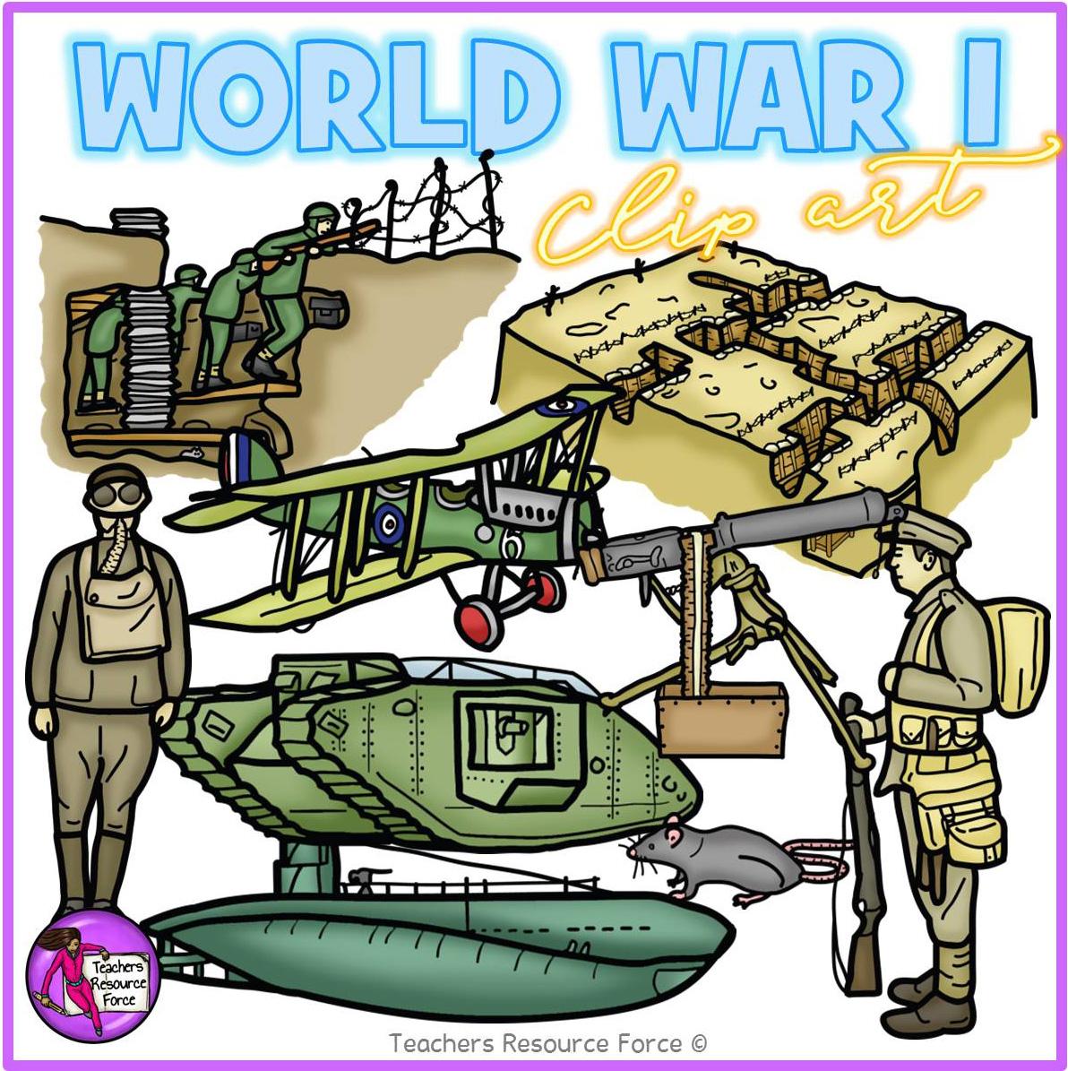 1 clipart world war. Clip art