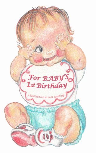 Happy birthday one baby. 1 clipart year old