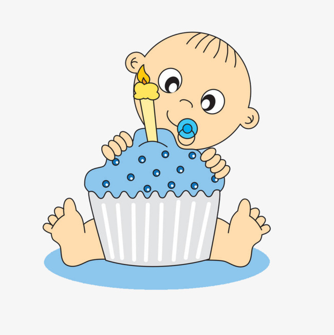 Illustration baby s first. 1 clipart year old