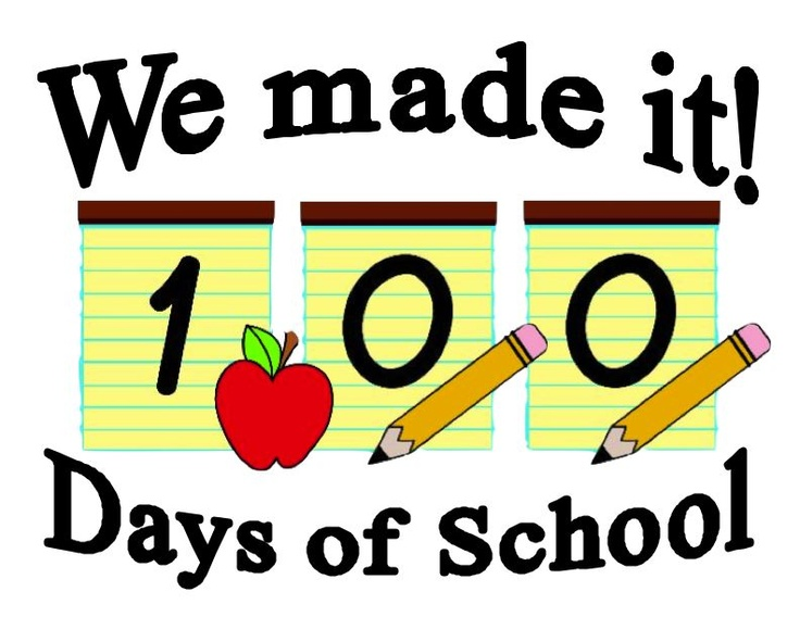 100 clipart 100 day.  best th of