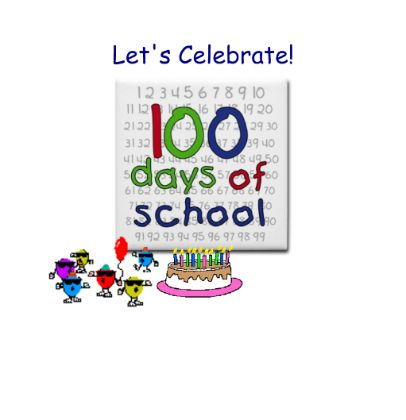 100 clipart 100 days smart.  best exchange lessons