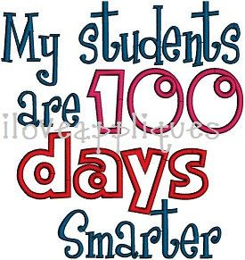 100 clipart 100 days smart. My students are smarter
