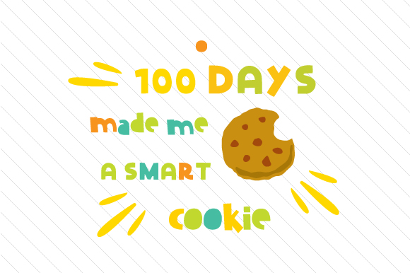 made me a. 100 clipart 100 days smart