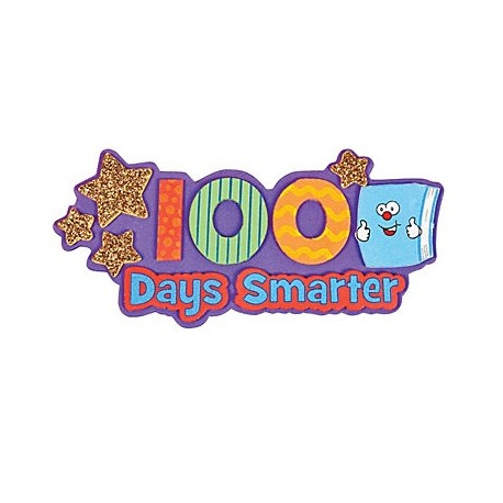 100 clipart 100 days smart.  smarter magnet craft