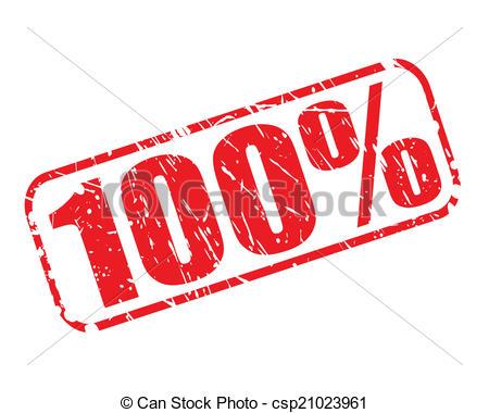 100 clipart 100 percent.  station