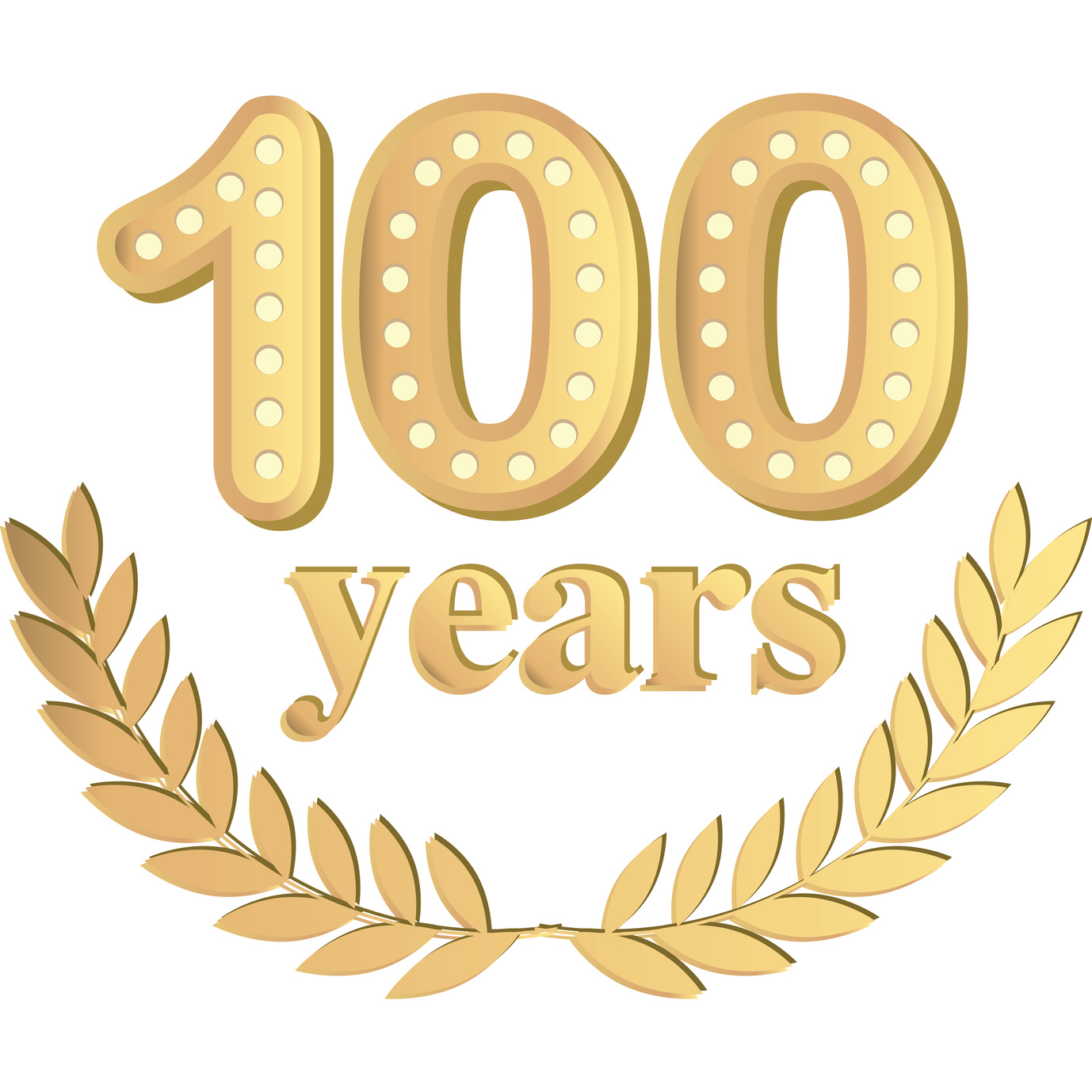 Sbr roofingcelebrate years with. 100 clipart 100 year