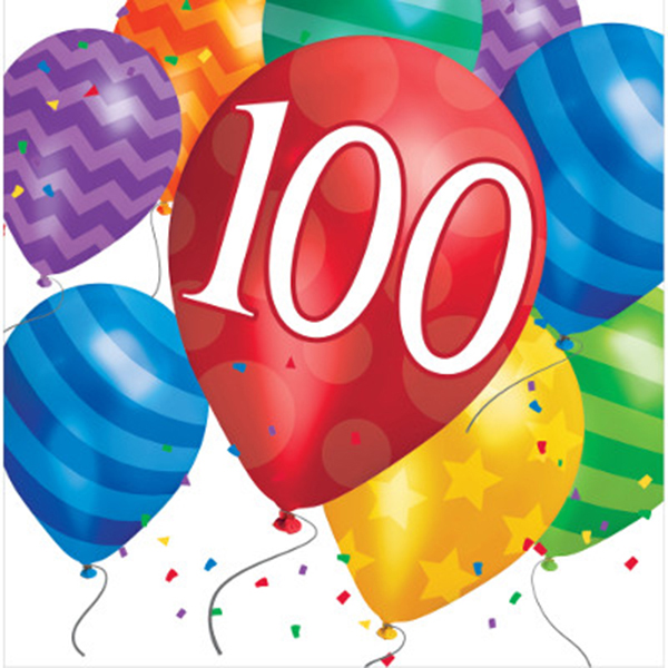 100 clipart 100th birthday.  th party supplies
