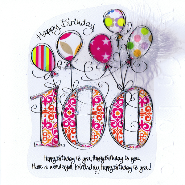 100 clipart 100th birthday.  th cards happy