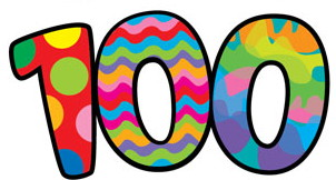 free download best. 100 clipart 100th day