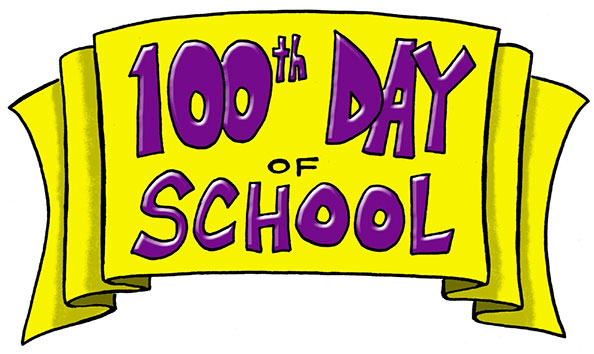 100 clipart 100th day
