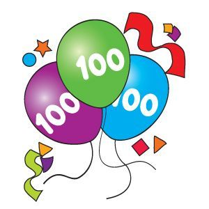 100 clipart 100th day.  th printable cliparthut