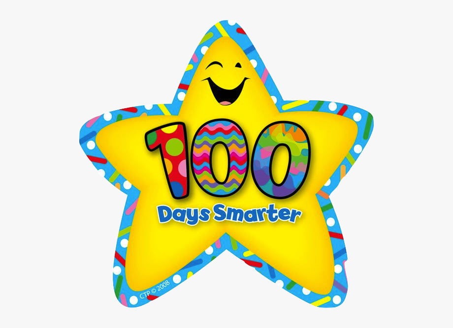 100 clipart 100th day. This of school stickers