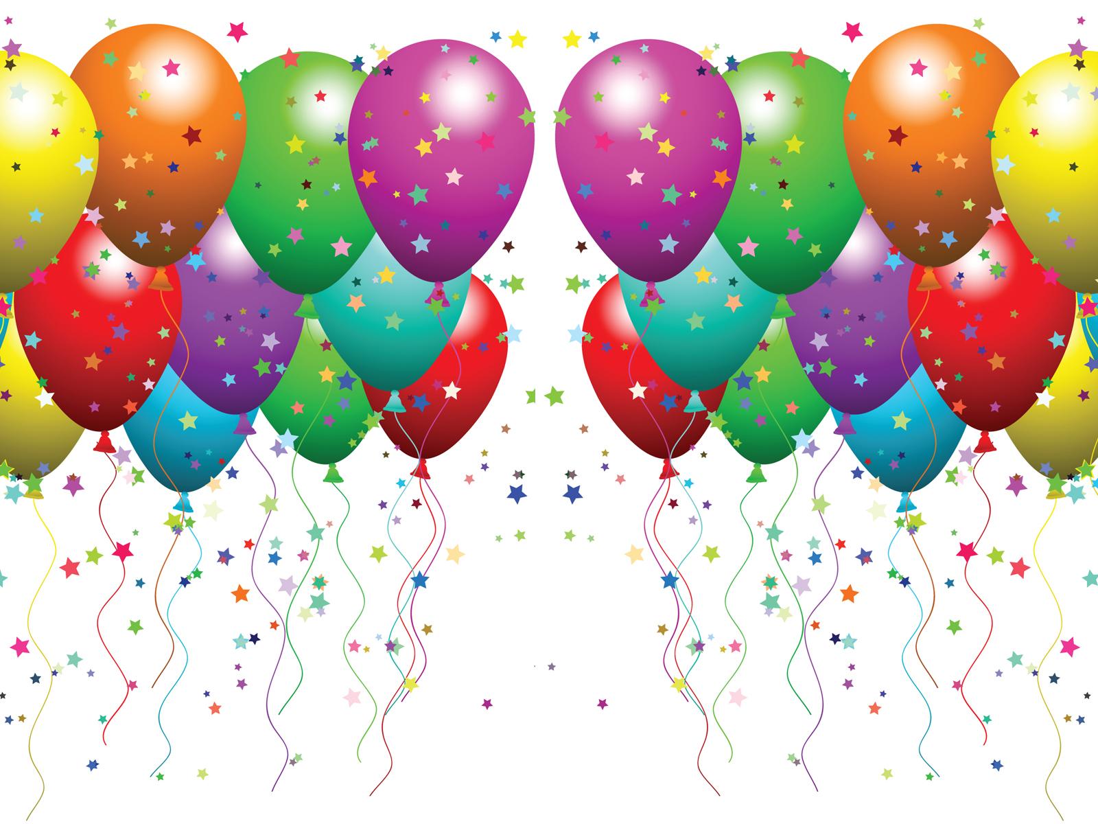 100 clipart balloon. Balloons confetti clip art