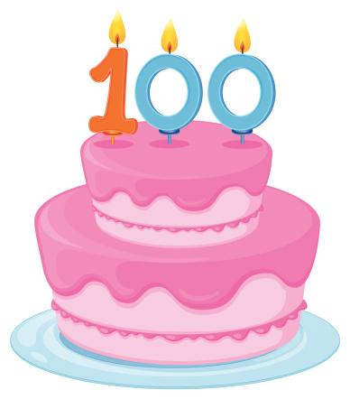 th celebration at. 100 clipart birthday