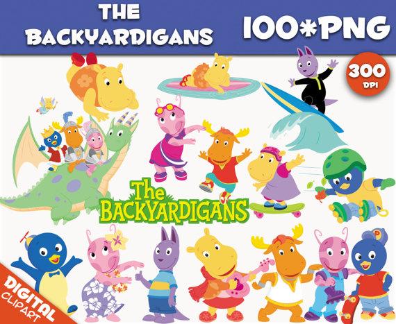 100 clipart birthday. The backyardigans png dpi