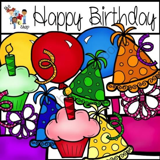 100 clipart birthday. Happy giveaway over graphics