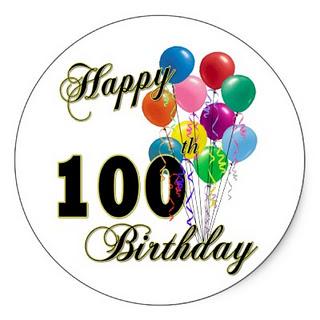 th. 100 clipart birthday