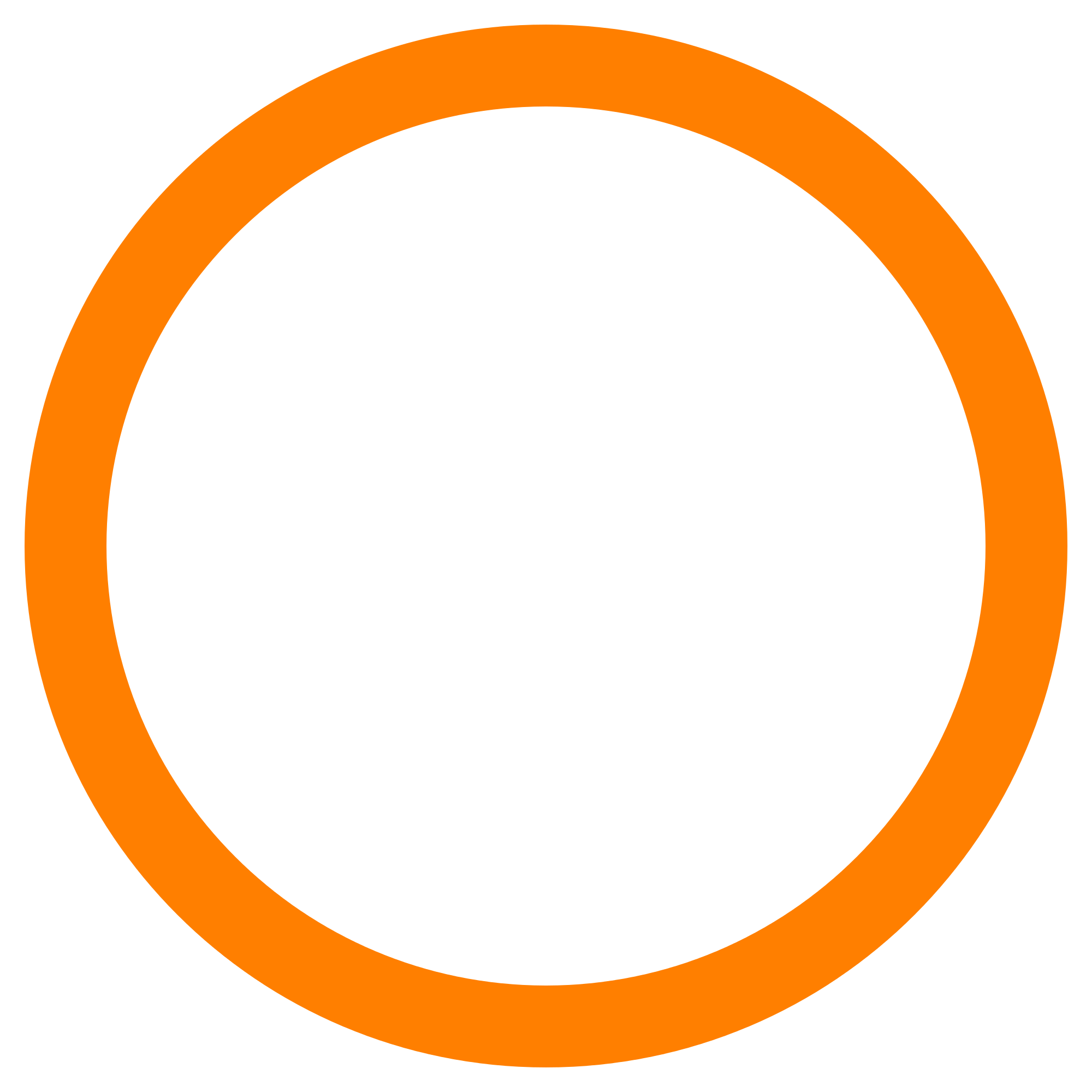 Oval clipart hollow. File orange circle svg