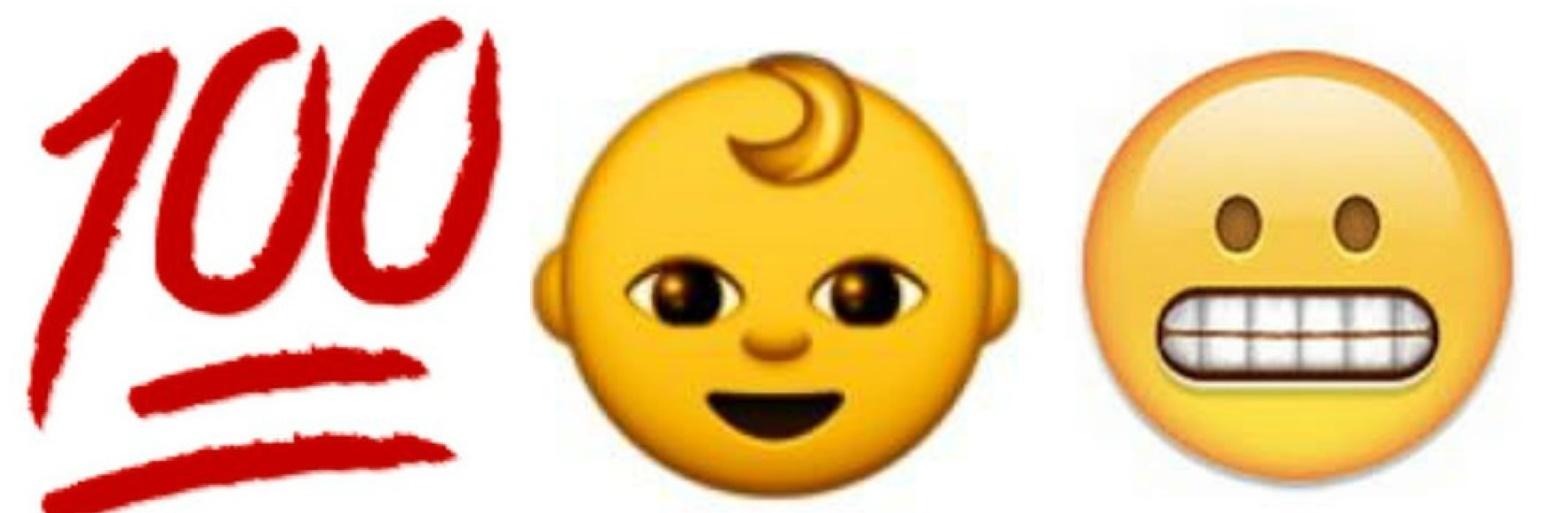 Those snapchat emojis symbols. 100 clipart emoji