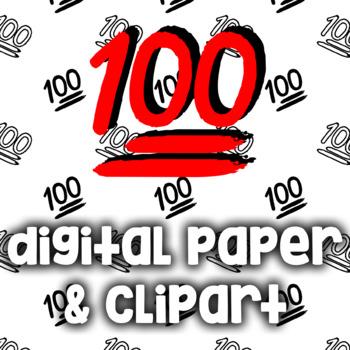points clip art. 100 clipart emoji