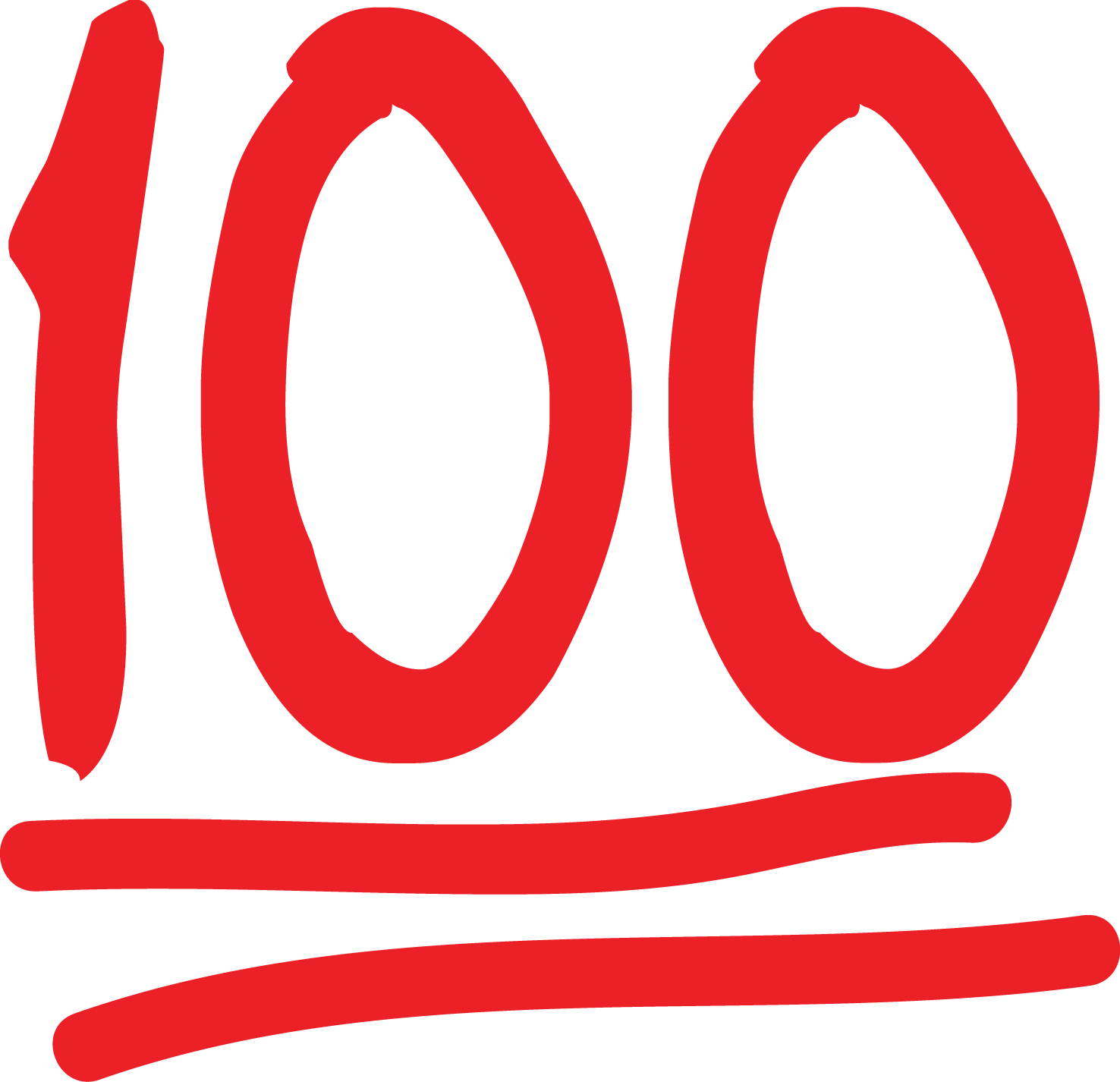 100 clipart emoji.  symbol at xvgf