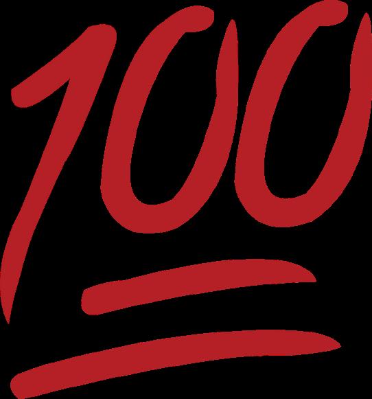 whatsapp number numero. 100 clipart emoji