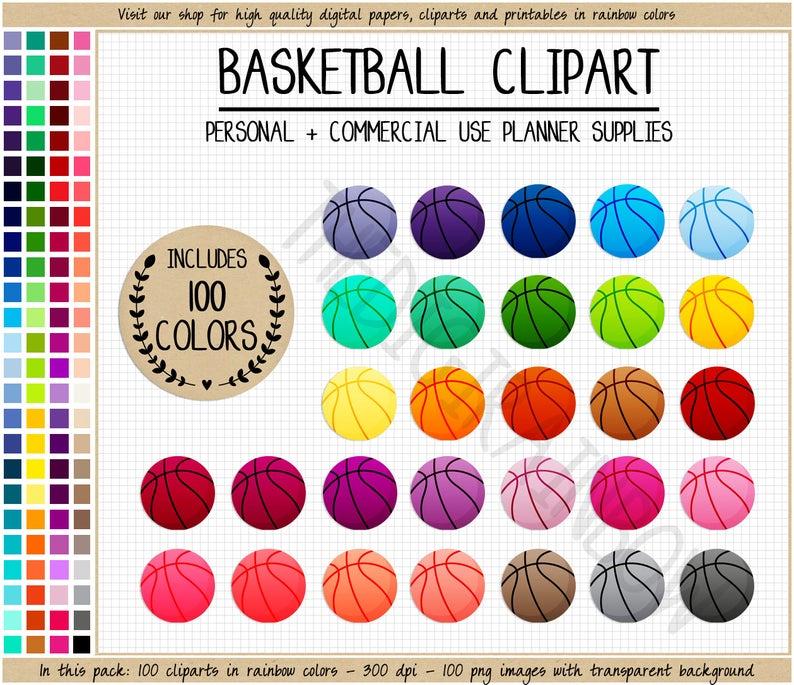 100 clipart item. Sale basketball rainbow stickers