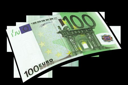 Download euro bill hq. 100 clipart money
