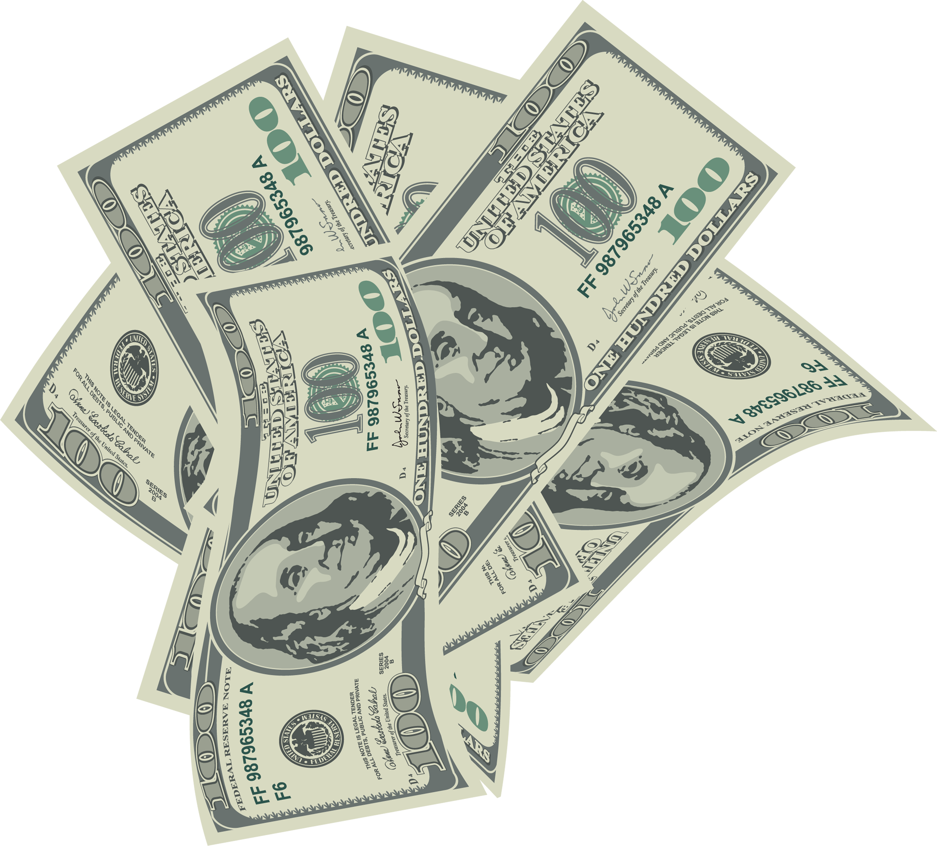 Large dollars bills png. Raffle clipart transparent background