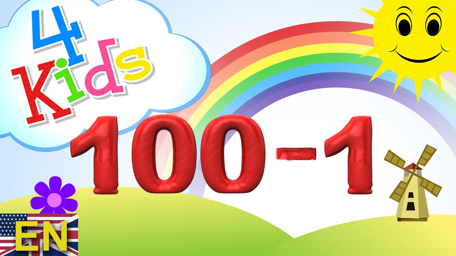 100 clipart number 100. Numbers counting reverse learning