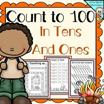 Count to in ones. 100 clipart one hundred