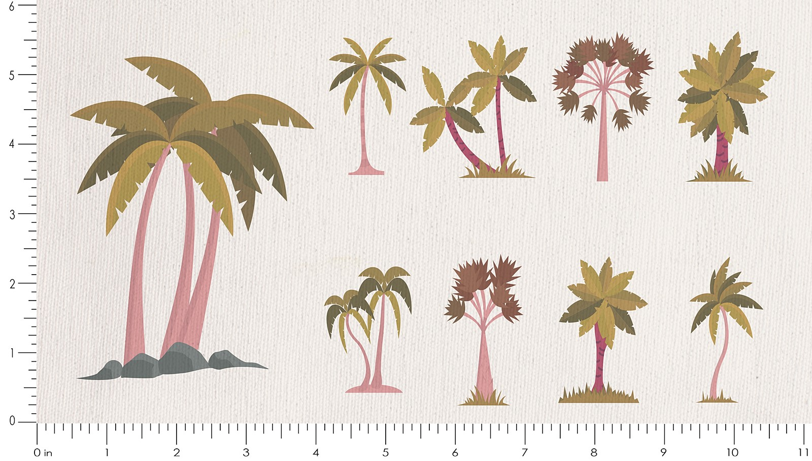 100 clipart palm tree. Buy cotton fabric for