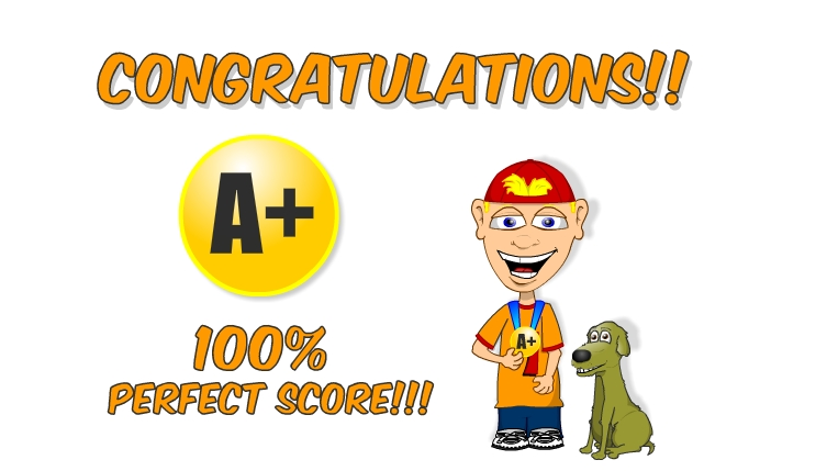 Did any e game. 100 clipart perfect score