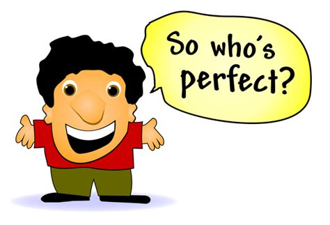 Aiming for perfection is. 100 clipart perfectionism