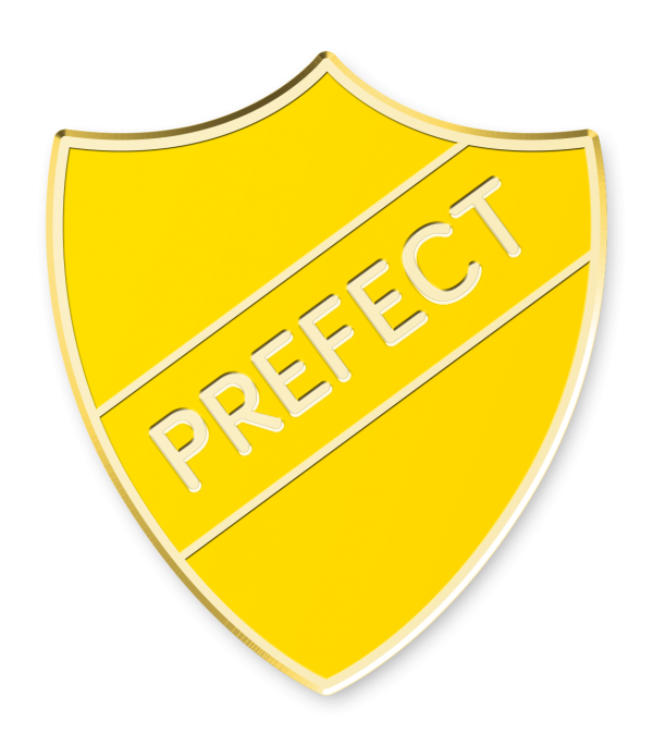 Shield school badges made. 100 clipart prefect