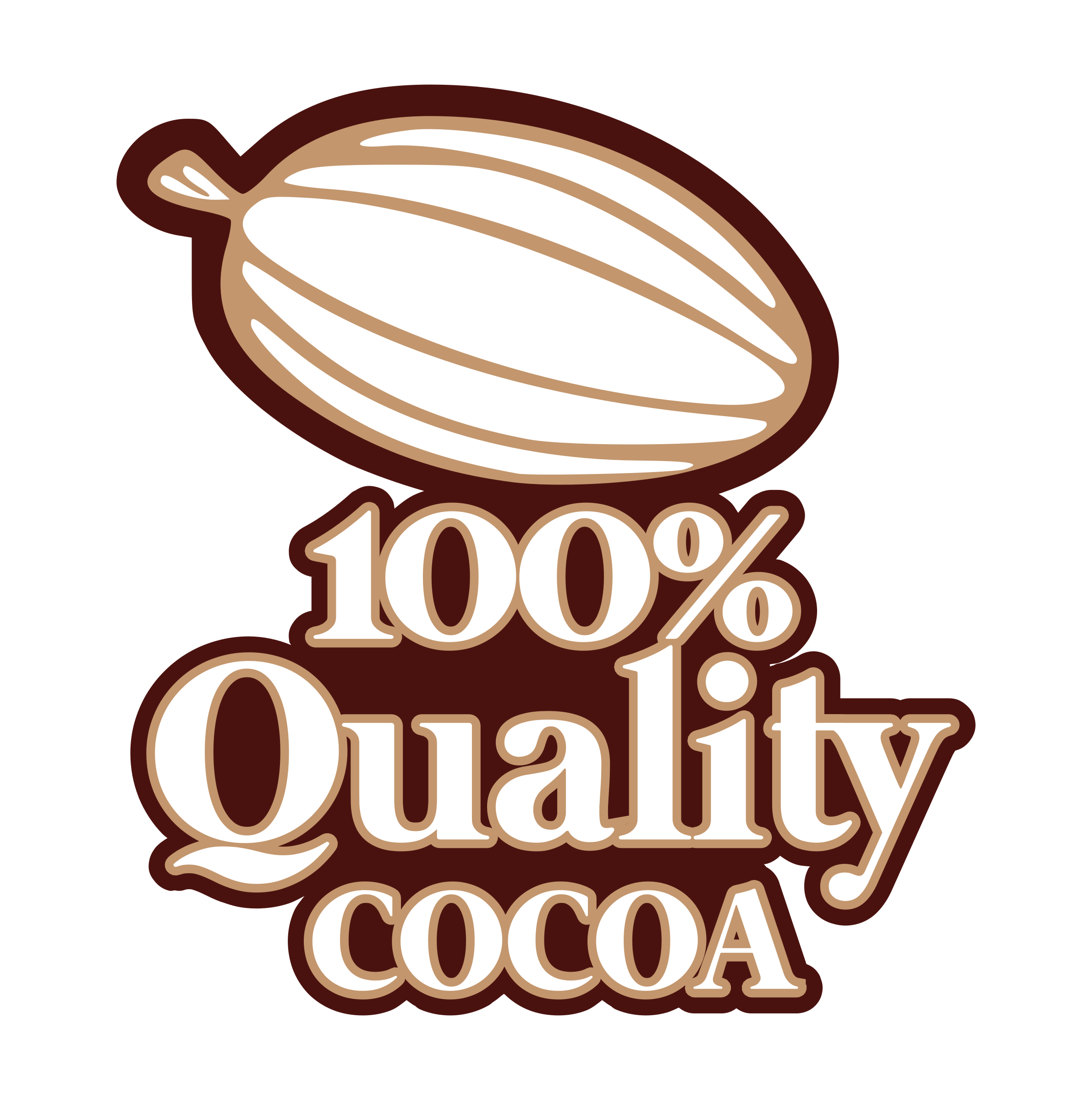 100 clipart quality. Cocoa big image png