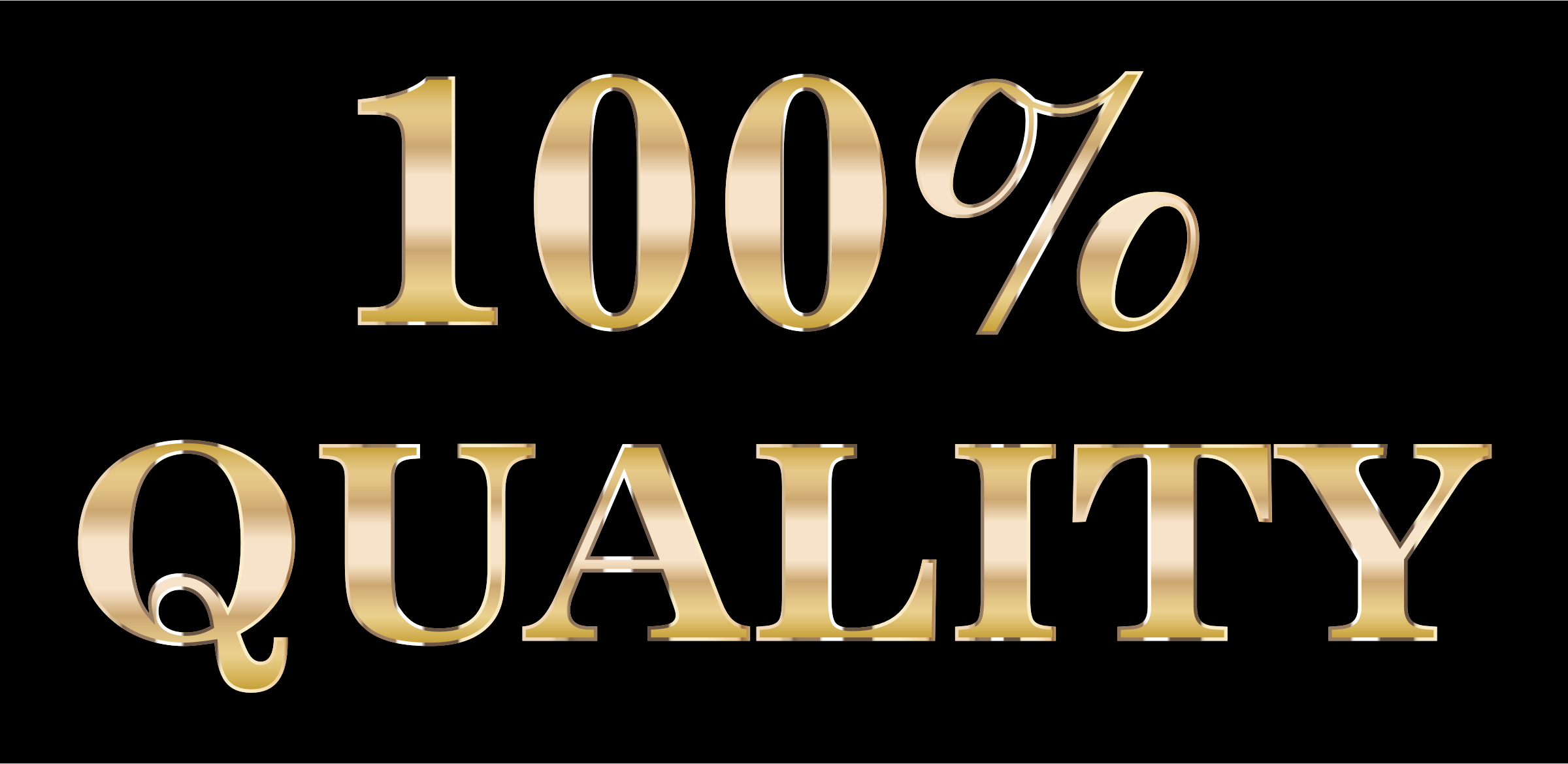 100 clipart quality. Percent typography big image