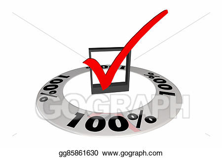 100 clipart score. Stock illustrations percent one