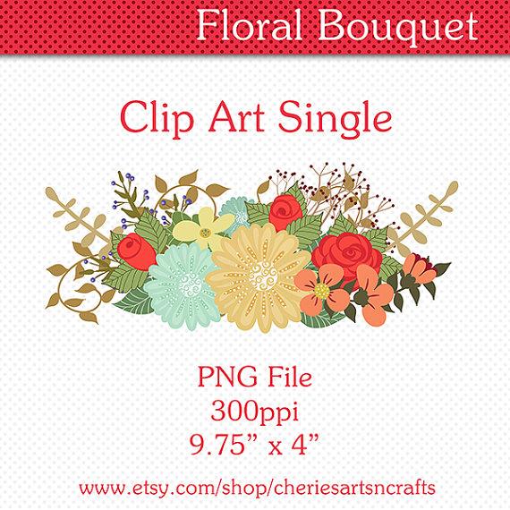 Floral clip art digital. 100 clipart swag