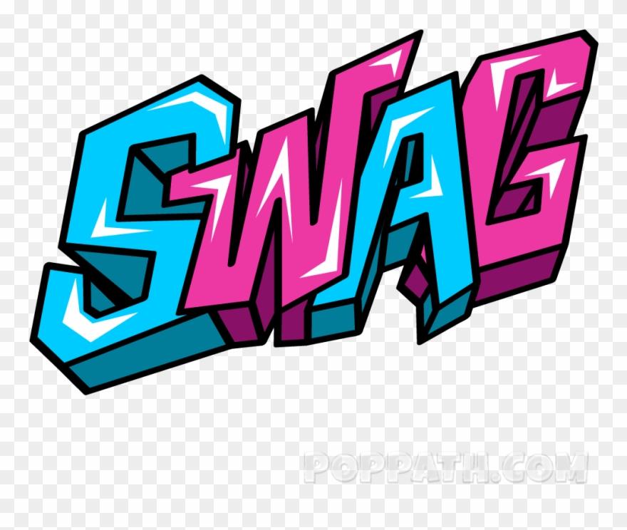Graffiti clipart word. Swag png transparent