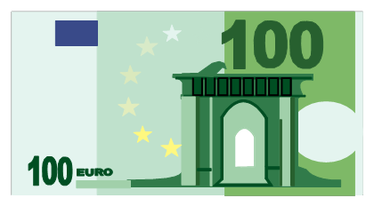 100 clipart transparent background. Euro png images free