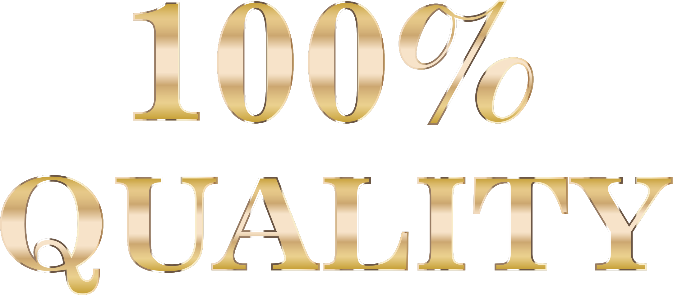 percent quality typography. 100 clipart transparent background
