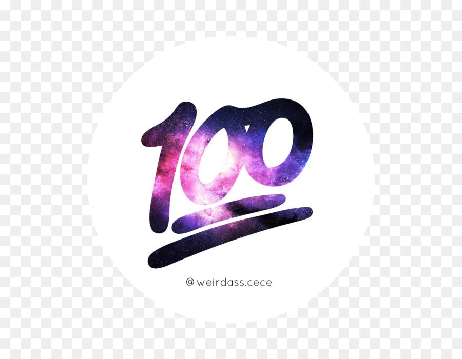 100 clipart transparent emoji. Background purple product
