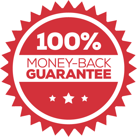 Redcon official. 100 money back guarantee png