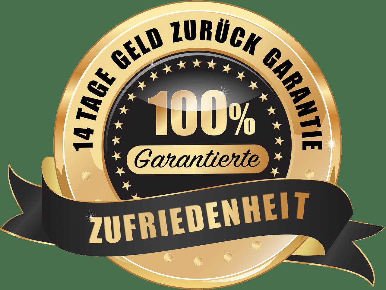 100 money back guarantee png. German transparent stickpng